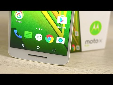 Motorola Moto X Play - Unboxing & Hands On!