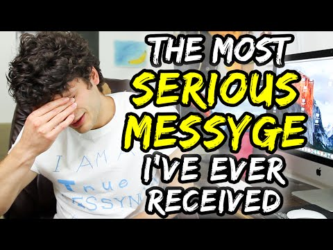 The MOST SERIOUS Messyge I've Ever Received | Jordan's Messyges
