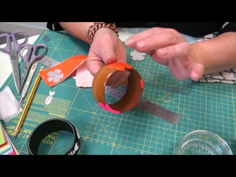 how-to-die-cut-bangles-from-duck-tape-|-beginner-project