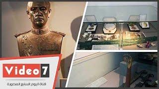مقتنيات متحف الرئيس السادات بمكتبة الأسكندرية تلقى الضوء على حياته