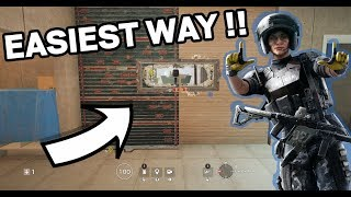 R6S: NEW EASY METHOD FOR THE MIRA HALF WALL TRICK !! (ONLY PRE-WIND BASTION)