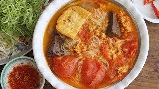 Bun Rieu Cua (vietnamese Crab Noodle Soup Recipe)