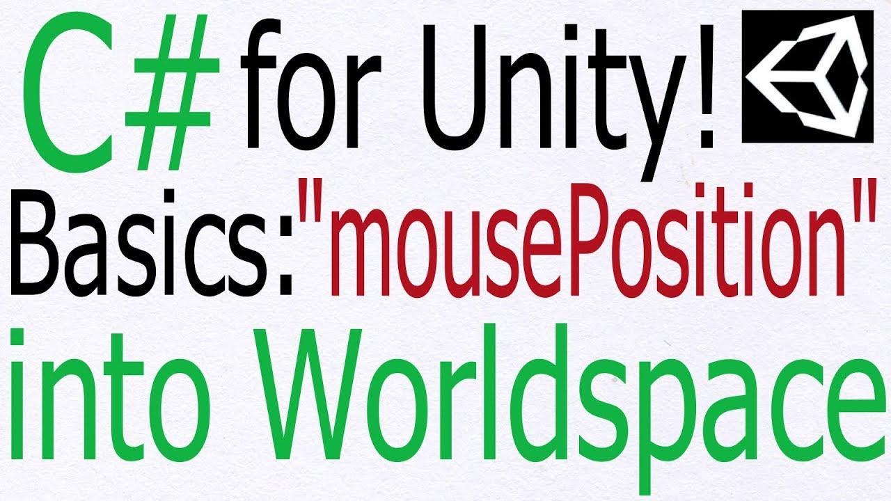 Unity C# Tutorial - Basics: Convert