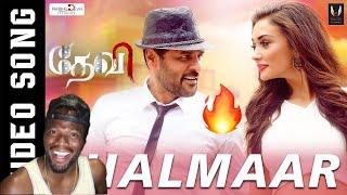 Chalmaar - Devi | Official Video Song| Prabhudeva, Tamannaah, Amy Jackson | Sajid , Vijay (REACTION)