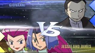 Pokemon Omega Ruby & Alpha Sapphire [ORAS]: Giovanni Vs Jessie and James