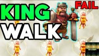 Clash Of Clans - King Walk Fail