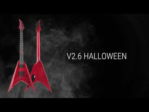 SOLAR Guitars V2.6 Halloween