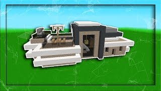 Minecraft: How To Build Modern House #1 (EASY)