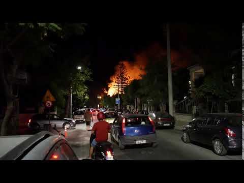 Φωτιά Ιταλικοί Στρατώνες (6)