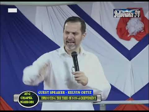 Pastor Kevin Ortiz ; The Power Of The Holy Ghost @ ATG Deliverance Chapel Nairobi, Kenya