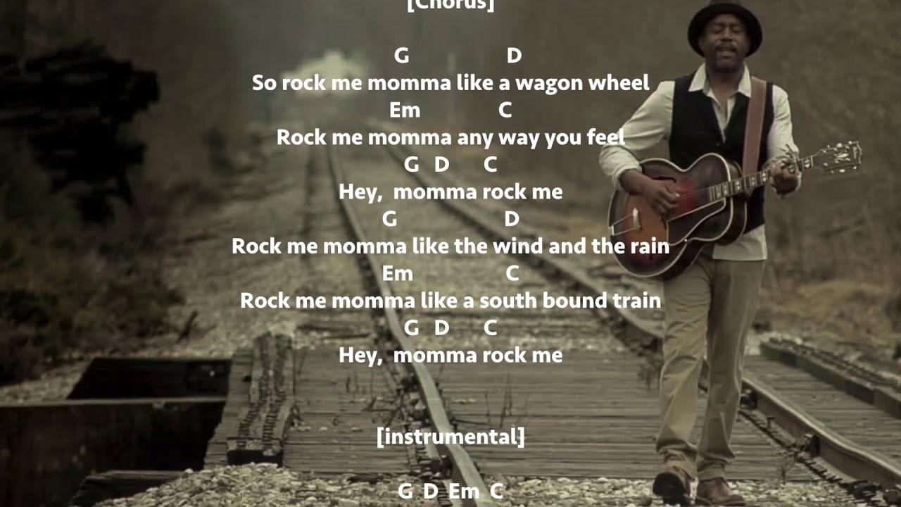 Wagon wheel lyrics and tabs