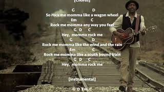 Wagon Wheel Darius Rucker - Chords and lyrics.mp3