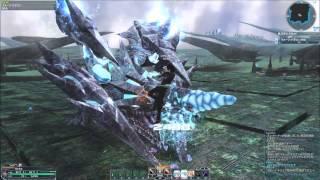 pso2 hu br boss solo   sh quartz dragon   no damage   sword only