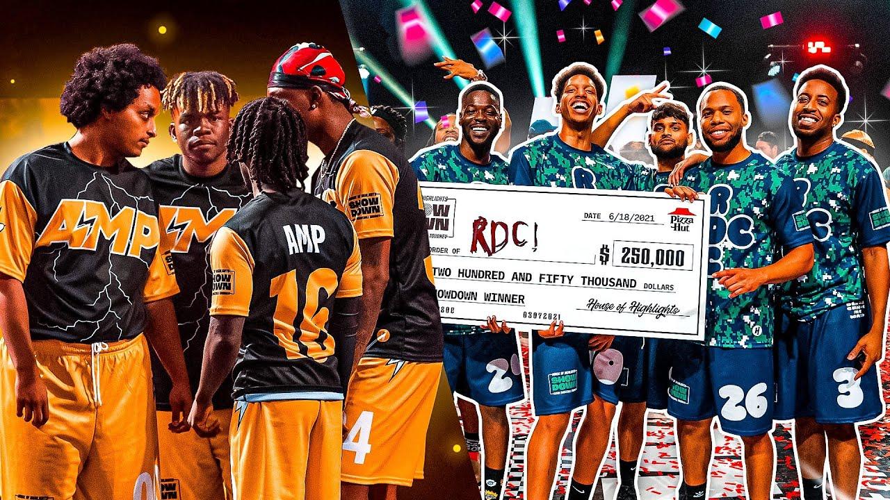 HOW AMP CHOKED THE $250,000 DODGEBALL GAME vs. RDC, FAZE & 2HYPE