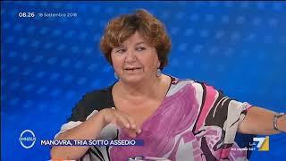 Carla Cantone (PD): 'Ho augurato sfortuna al governo per il Milleproroghe. Erano tutti con le ...