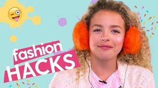 Fashion Hacks: DIY Earmuff Headphones, DIY Earrings, Paracord Bracelet | MyFroggyStuff x GoldieBlox