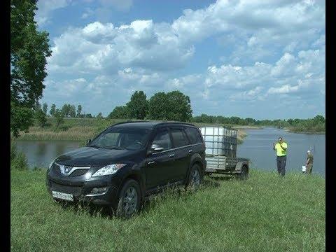 Зарыбление пруда в Моршанском районе