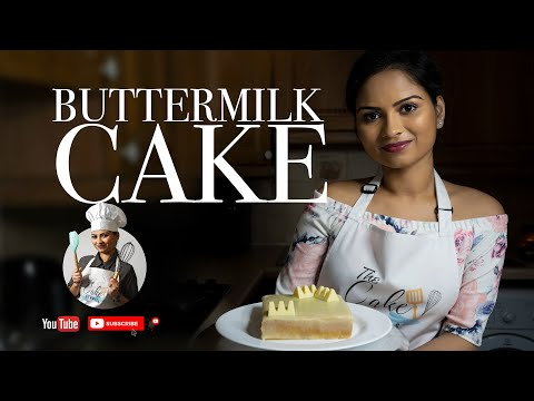 Buttermilk Cake Recipe | Cake Tutorial | The Cake Studios