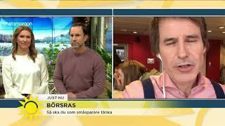 Sparekonomen: Pengarna du behöver i sommar ska du ha i plånboken – inte på börsen - Nyhetsmorgon (TV
