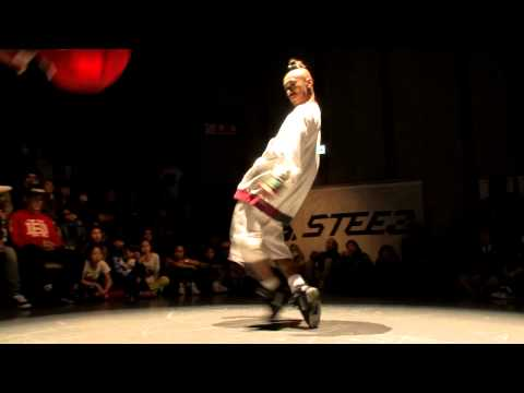 DANCE@LIVE 2013 Kansai CHARISMAX HIPHOP【SEMIFINAL】KENTO vs TATSUYA