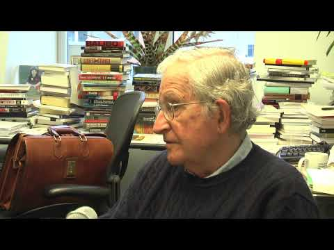 Industrial Worker (IWW Newspaper) interviews Noam Chomsky (1/4)