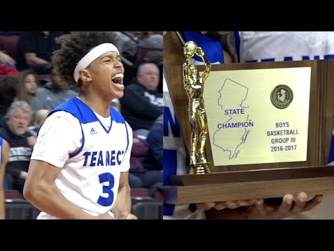 Leondre Washington & Teaneck STATE CHAMPIONSHIP!💍🏆 Epic Come