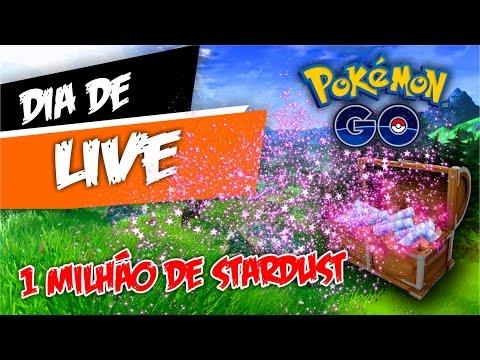 Gastando 1.000.000 Stardust no Pokémon GO
