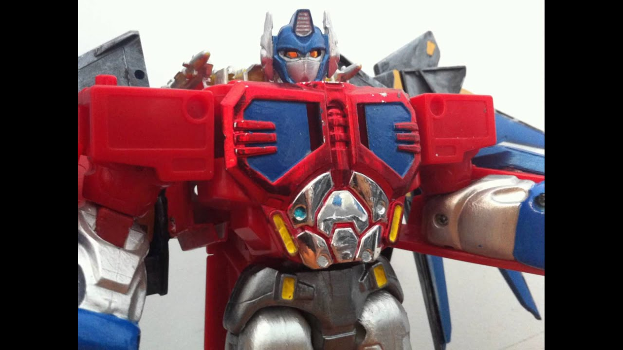 Custom Transformers: R.I.D Optimus Prime with Jet-Pack ...