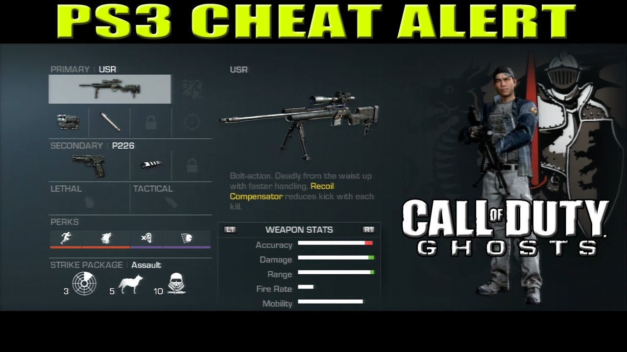 COD GHOSTS | PS3 CHEAT ALERT ÚLTIMO PRESTIGE E DEATH ...