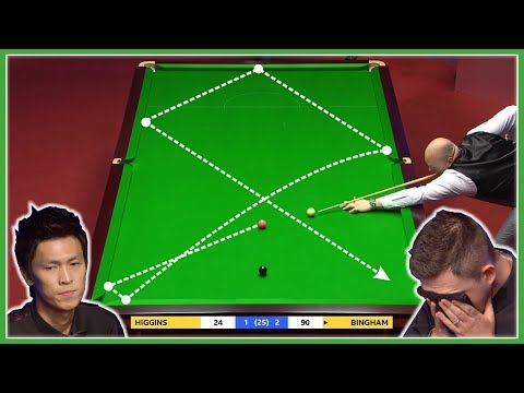 TOP 20 CRAZY LUCKY SHOTS | World Snooker Championship 2019
