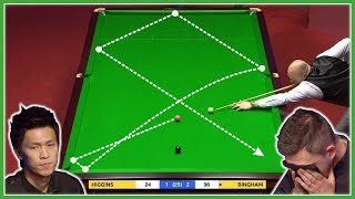 TOP 20 CRAZY LUCKY SHOTS (Flukes) World Snooker Championship 2019