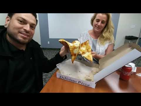 The Lunch Hour - Amici's PIZZA!!!