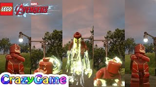 LEGO The Flash from Injustice 2 Free Roam - LEGO MARVEL's Avengers MOD