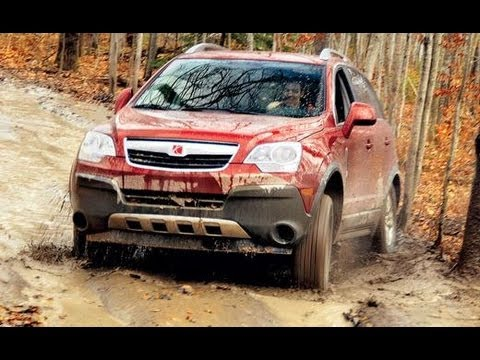 Rav4 Vs Rogue >> 2008 Saturn Vue - Drive Line Review - CAR and DRIVER - YouTube