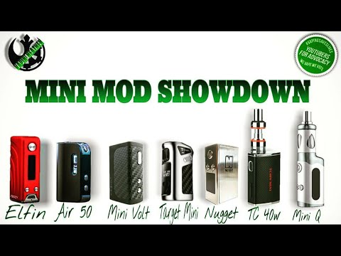 Battle of the Mini Mods | Lets get ready to Rumble!!