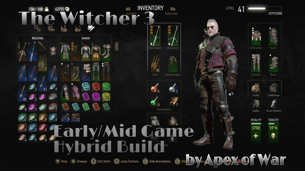 Blood And Wine Build Witcher