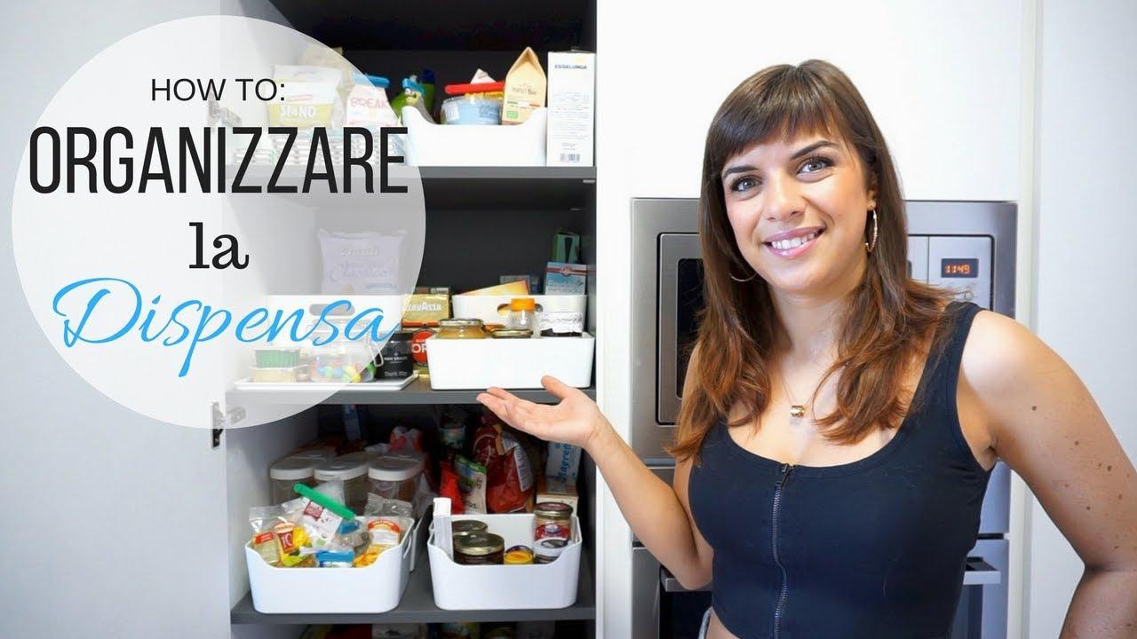 Organizzare La Credenza : How to organizzare la dispensa nurselinda youtube