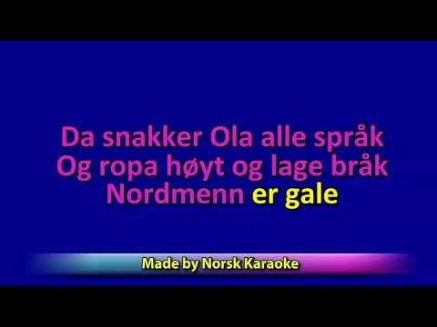 Karaoke Nordmenn er gale - Banana Airlines