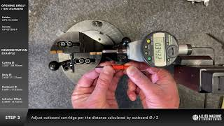 How to setup an Opening Drill® at the spindle