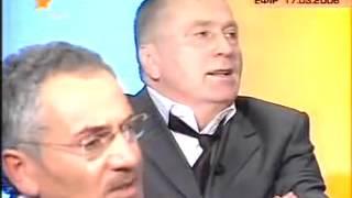 Жириновский  против Украины на украинском ток шоу
