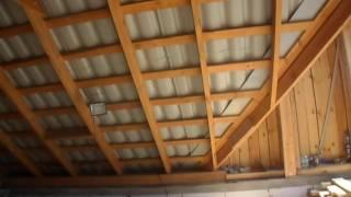 видео Строительство мансарды своими руками