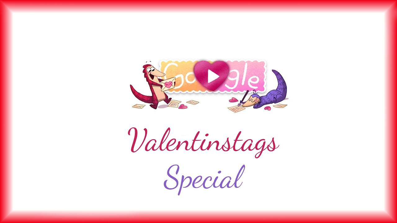 Valentinstag Special ♥ Google   Doodle Spiel ♥