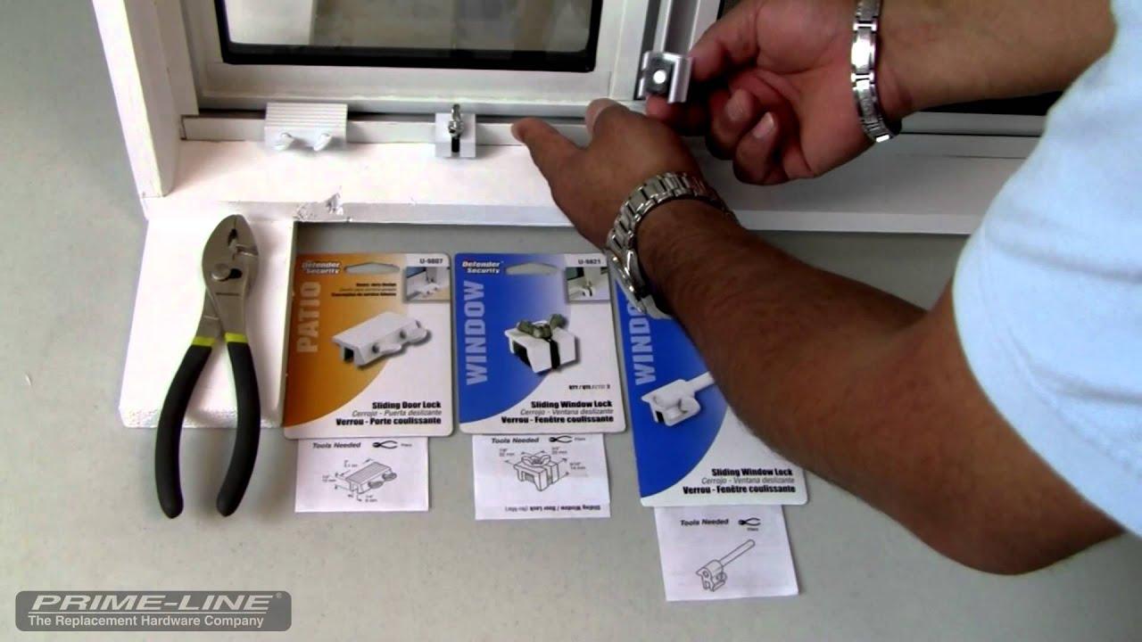 Ferreter a de seguridad para ventanas y puertas corredizas - Como colocar puertas correderas ...