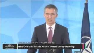 Nato Chief Calls Russian Nuclear Threats