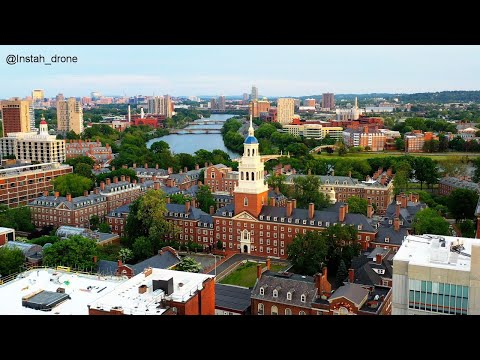 Aerial Scenes from a quiet Cambridge MA