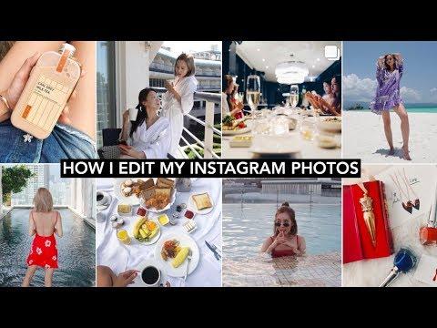 HOW I EDIT MY INSTAGRAM PHOTOS + Aesthetic Wallpaper Tutorial thumbnail