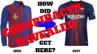 Fc barcelona jersey conspiracy...gets ...