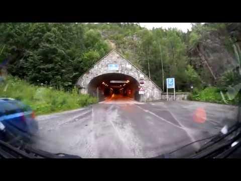 Spiralny tunel / Spiral Tunnel / Spriralen, Drammen, Norway, Norwegia HD