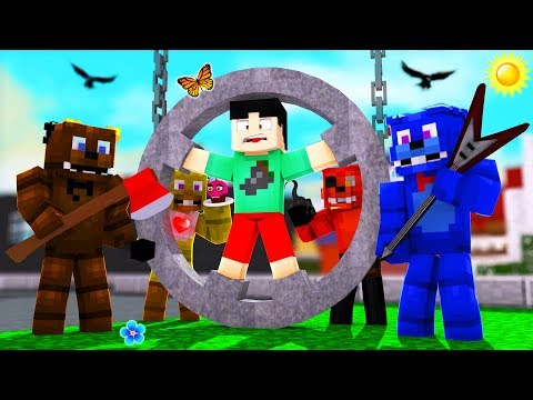 Minecraft FNAF - ESCAPE THE EVIL GRANNY ANIMATRONICS!