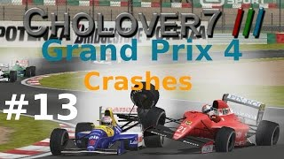 Grand Prix 4  Crashes 13 (2016 NEW VIDEO)